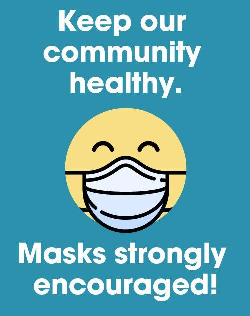 Health Mask Sandwich Board