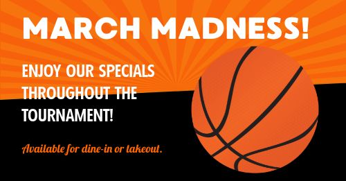 March Madness Facebook Post