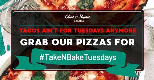 Pizza Tuesdays Facebook Post