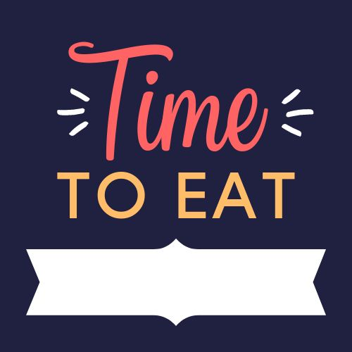 Time To Eat Food Label