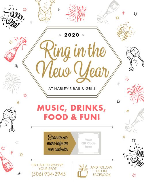 NYE Event Flyer