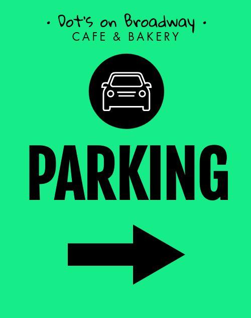 Parking Sandwich Board