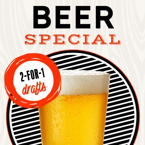 Beer Specials Instagram Post