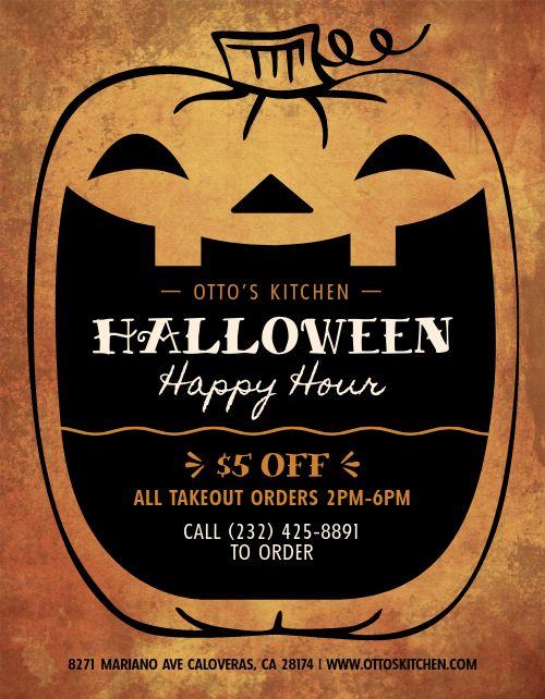 Halloween Happy Hour Announcement