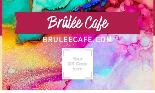 Cafe QR Code Loyalty Card