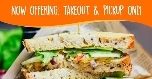 Sandwich Takeout Facebook Post