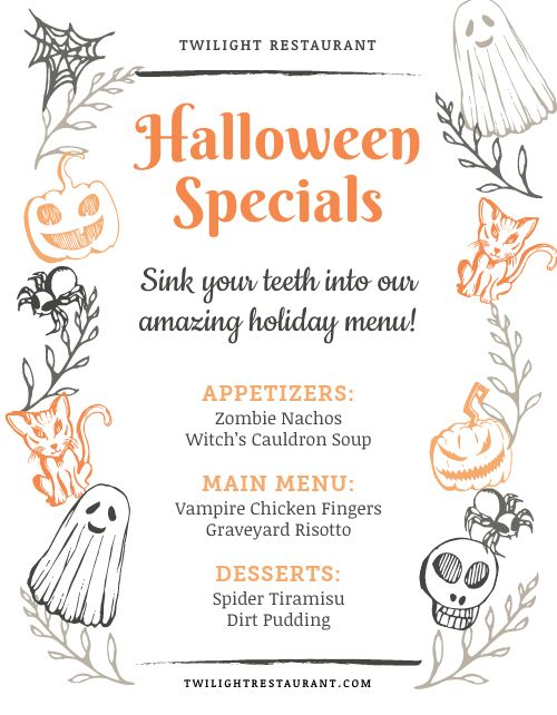 Halloween Holiday Flyer