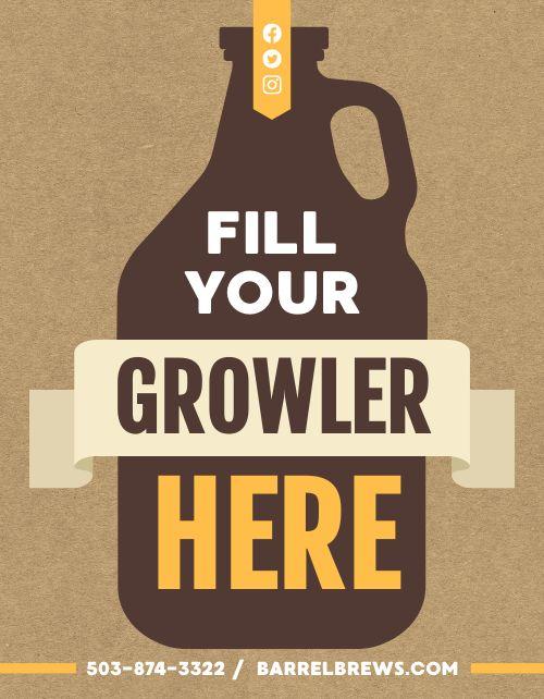 Growler Station Flyer