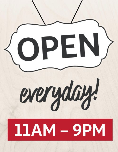 Open Everyday Sign