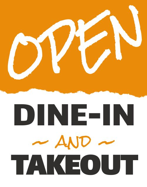 Open Takeout Poster