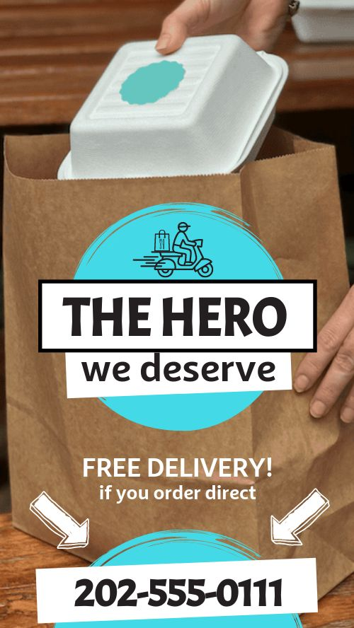 Free Delivery Facebook Story