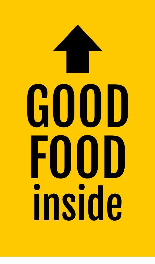 Good Food To Go Sticker