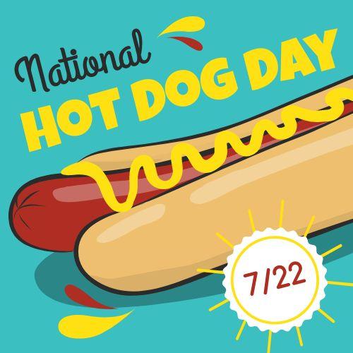 Hot Dog Instagram Post