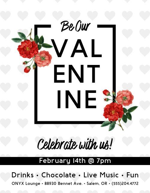 Valentine Celebration Flyer