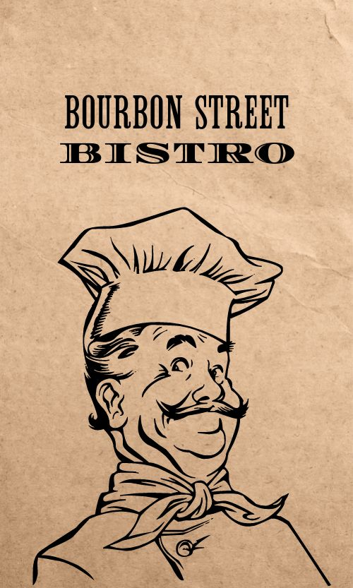 Bistro Promotional Card