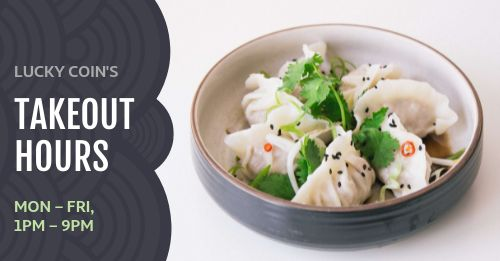 Dumplings Takeout Facebook Post