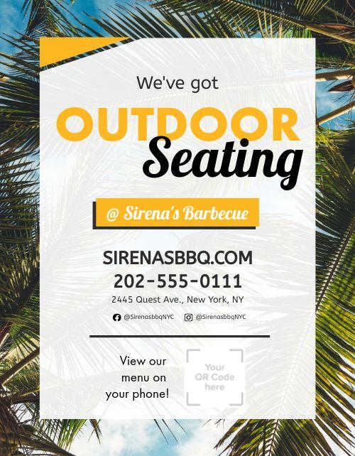 Beach Seating Flyer