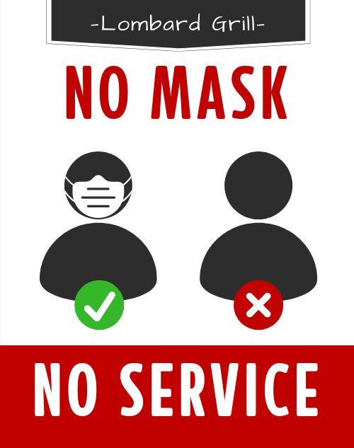 Mask Required Sidewalk Sign