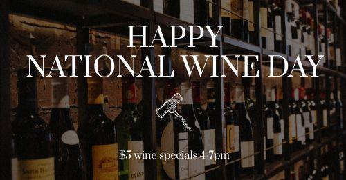 Wine Day Facebook Update