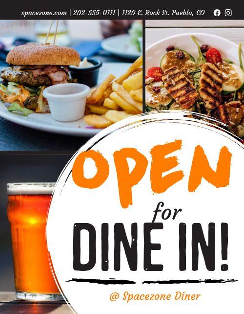 Open Dine In Announcement