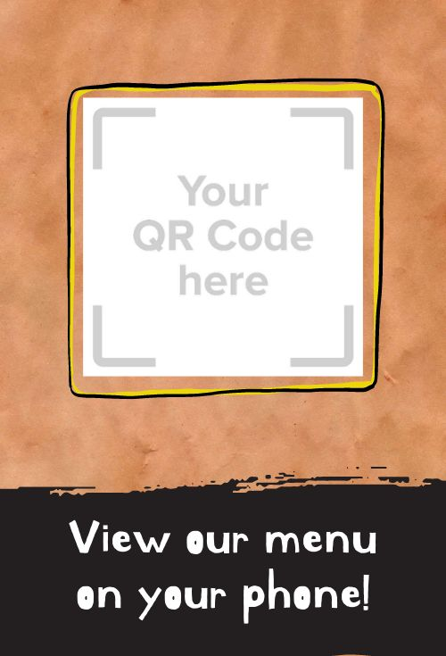 QR Code Table Card
