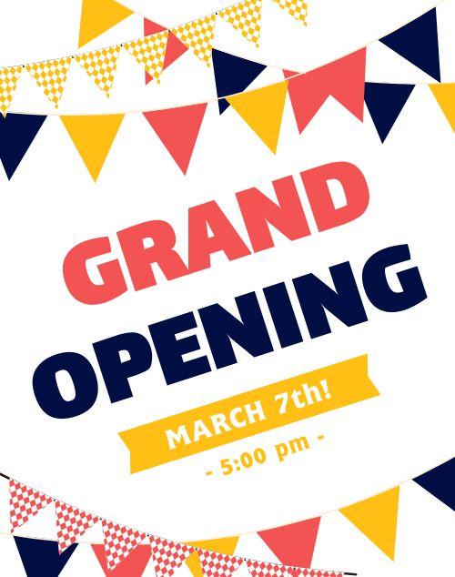 Grand Opening Display