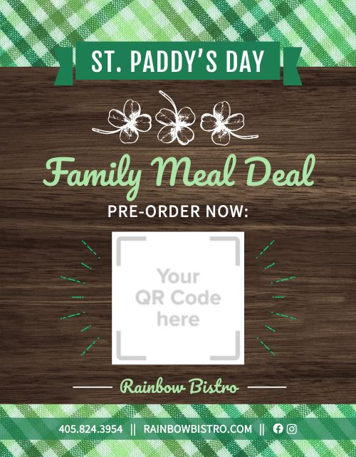 St Paddys Day Announcement