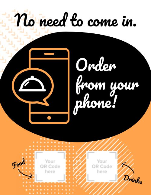 Order From Phone Flyer