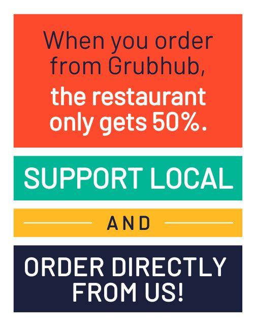 Support Local Sandwich Board