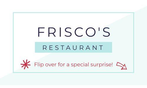 Restaurant Promo Business Card