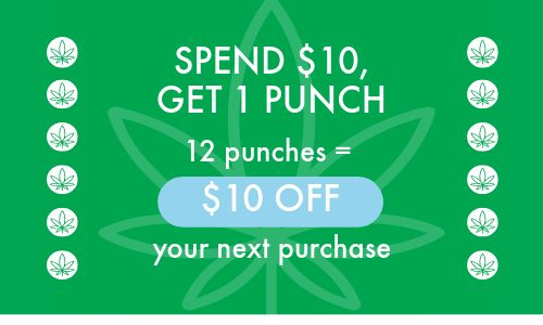 Dispensary Punch Card