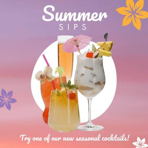 Summer Cocktails Instagram Update