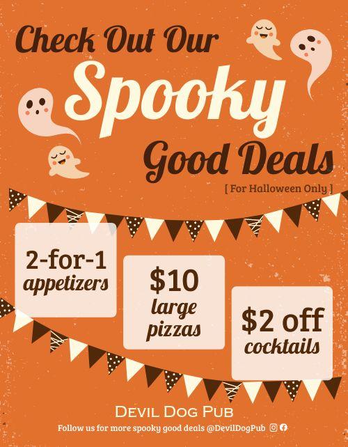 Halloween Promotional Flyer
