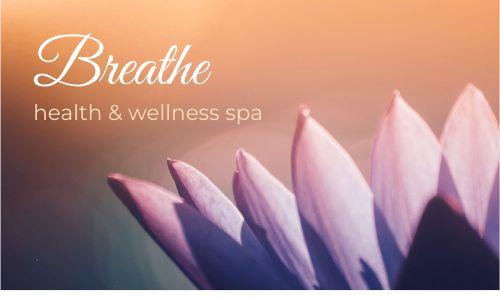 Spa Lotus Business Card