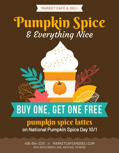 Pumpkin Spice Flyer