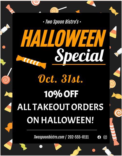 Halloween Leaflet