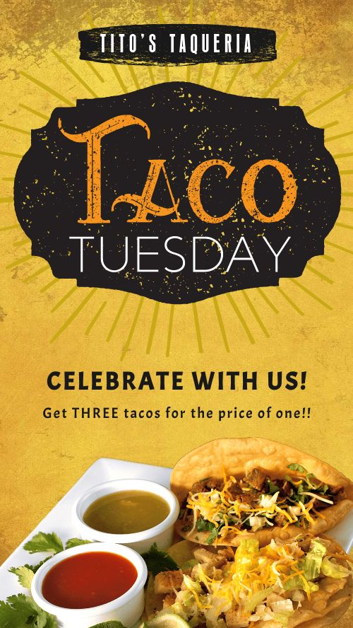 Taco Tuesday Facebook Story