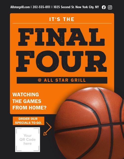 Final Four Flyer