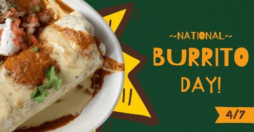 Burrito Facebook Post