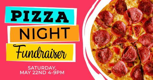 Pizza Night Facebook Post