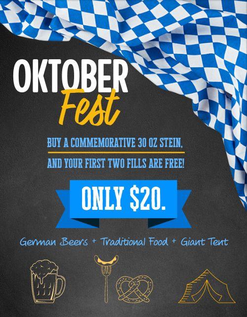 Oktoberfest Deals Flyer