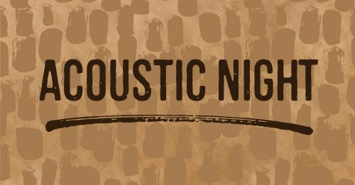 Acoustic Night Facebook Post