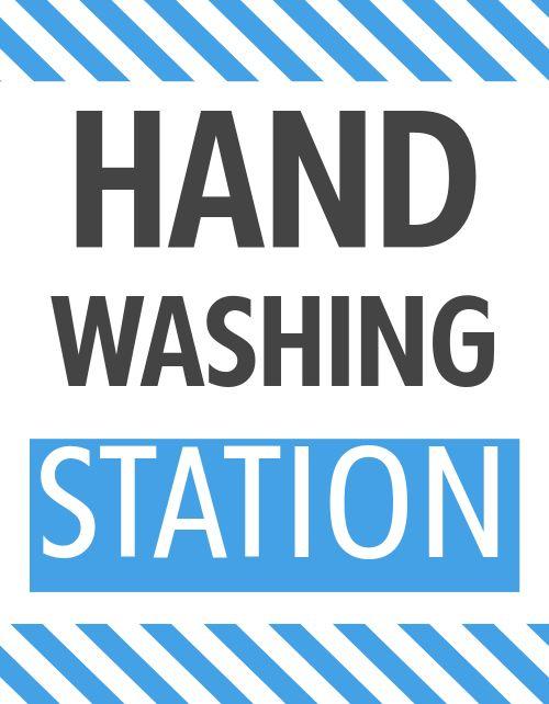 Handwashing Sign