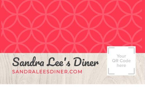 Diner QR Code Loyalty Card