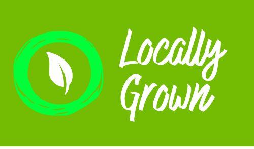 Grown Local Sticker