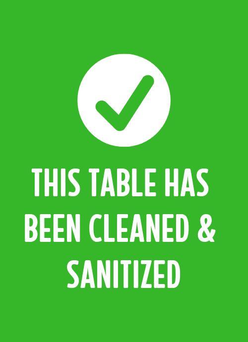 Clean Tabletop Insert