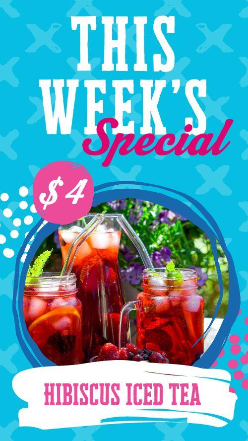 Cafe Specials Facebook Story