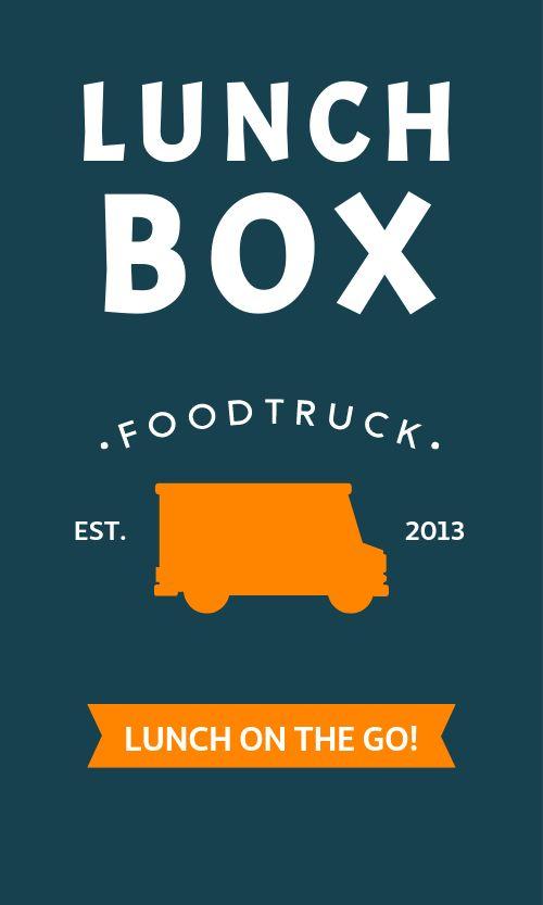 Food Truck Rewards Card
