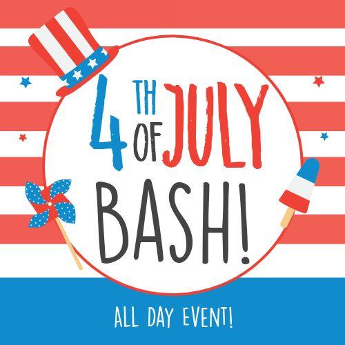Fourth of July Bash Instagram Post