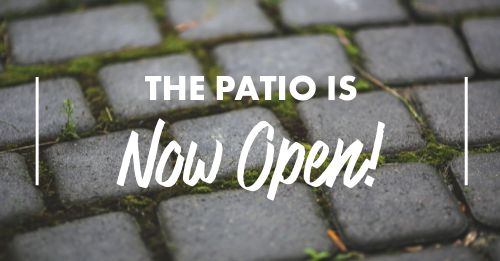 Outdoor Dining Facebook Post